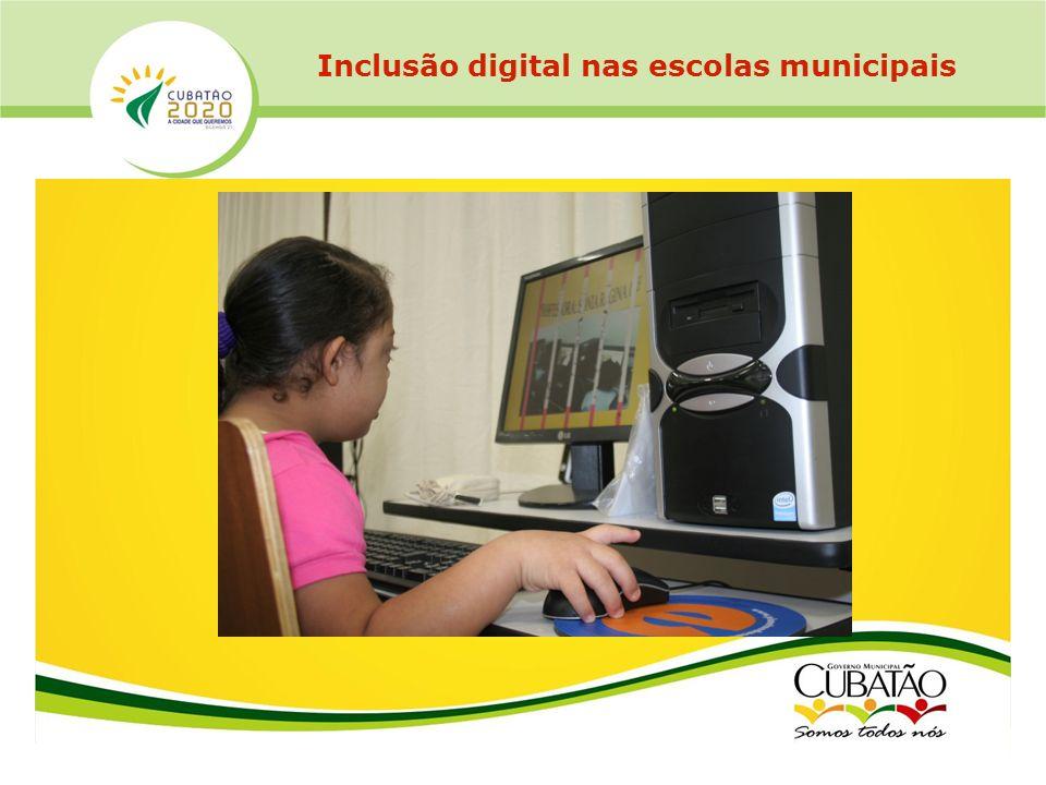 Inclusão digital nas escolas municipais
