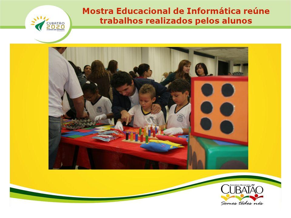Mostra Educacional de Informática reúne