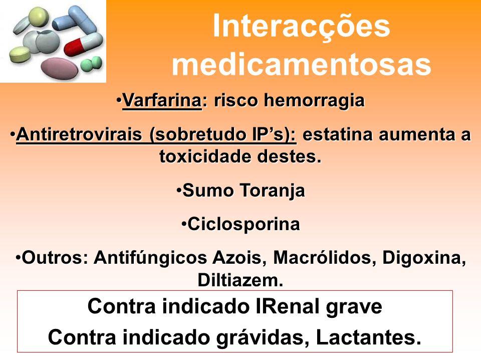 Interacções medicamentosas