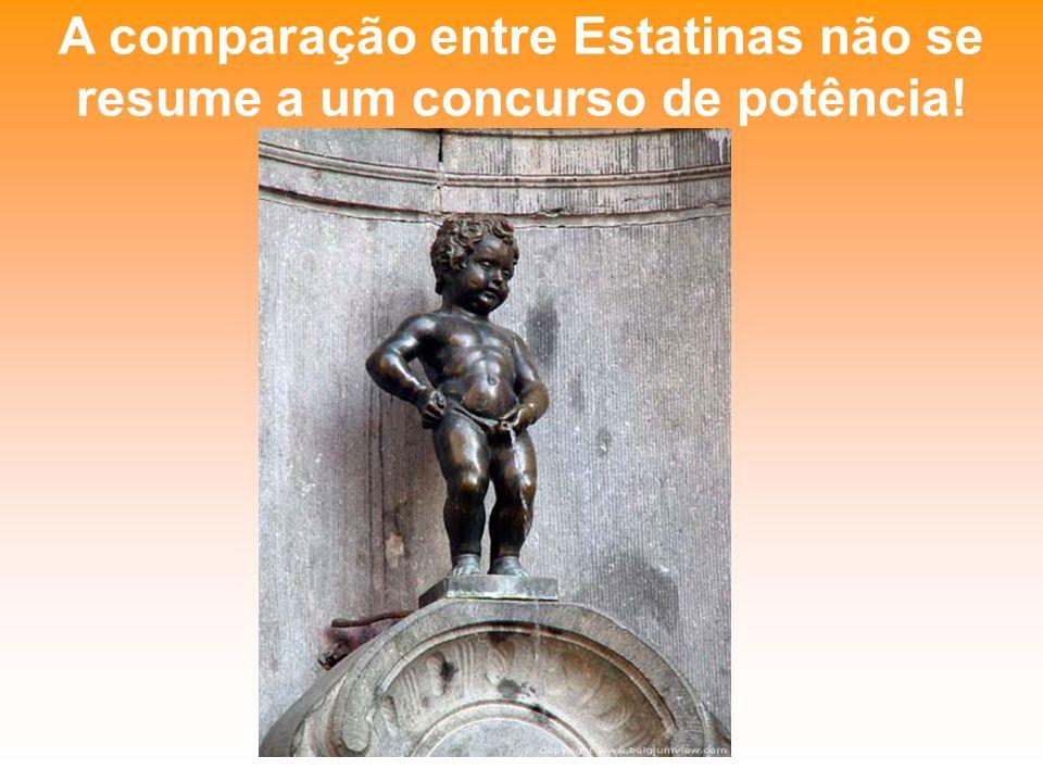 A comparação entre Estatinas não se resume a um concurso de potência!