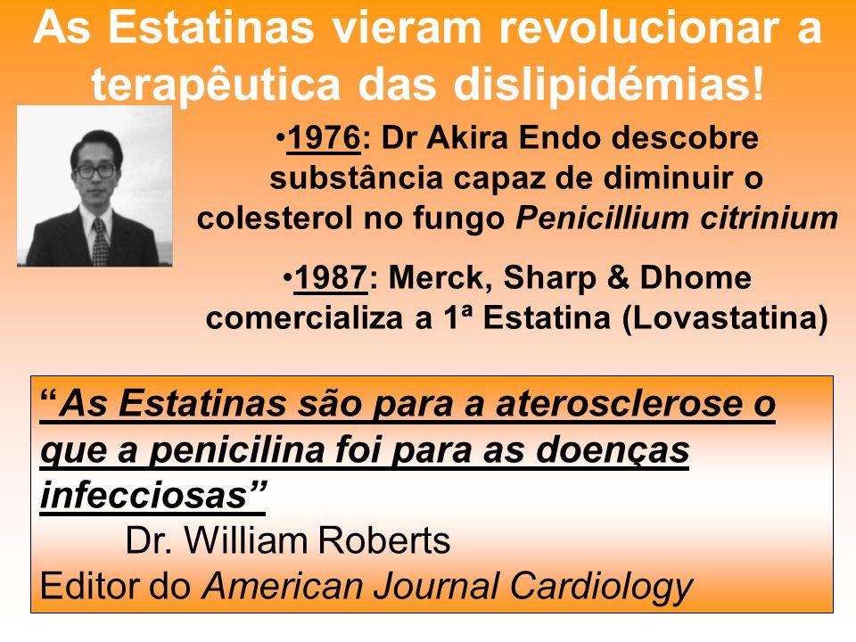 As Estatinas vieram revolucionar a terapêutica das dislipidémias!