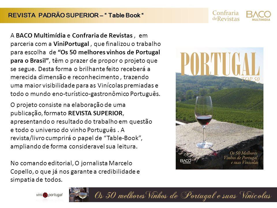 REVISTA PADRÃO SUPERIOR – Table Book