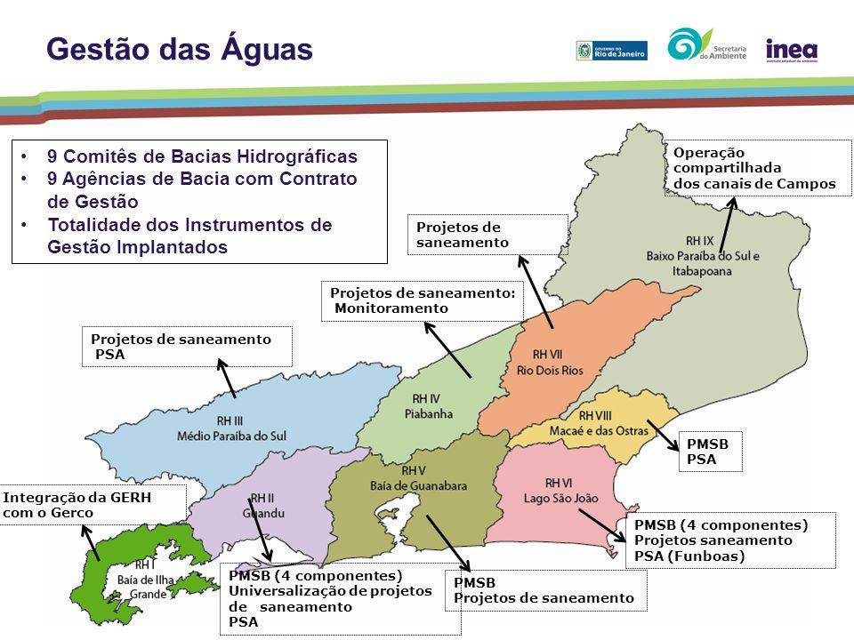 Gestão das Águas 9 Comitês de Bacias Hidrográficas