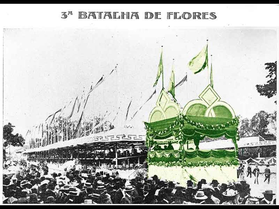 BATALHA DE FLÔRES O jornal G.N. , do dia 27.11.1903, em seu artigo A Cidade , escreveu: