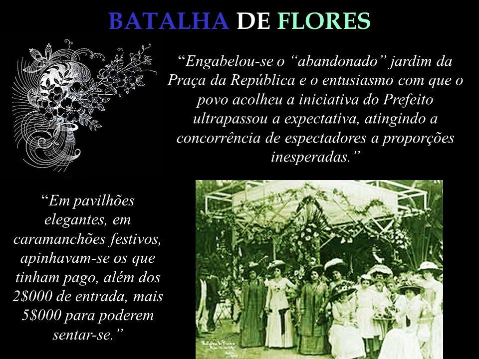 BATALHA DE FLORES