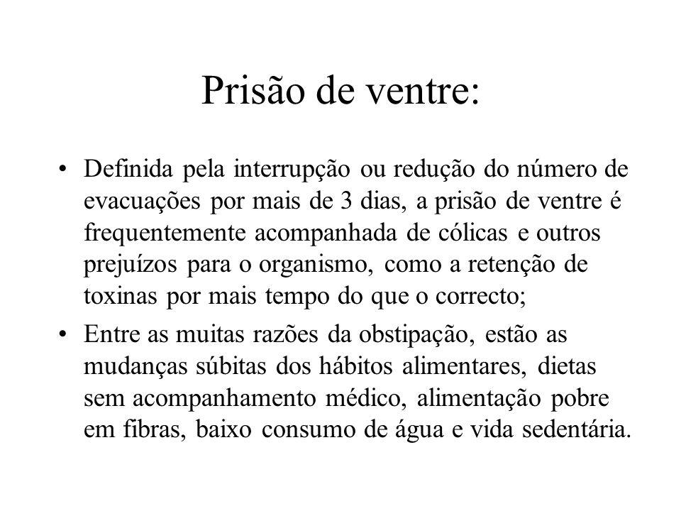 Prisão de ventre: