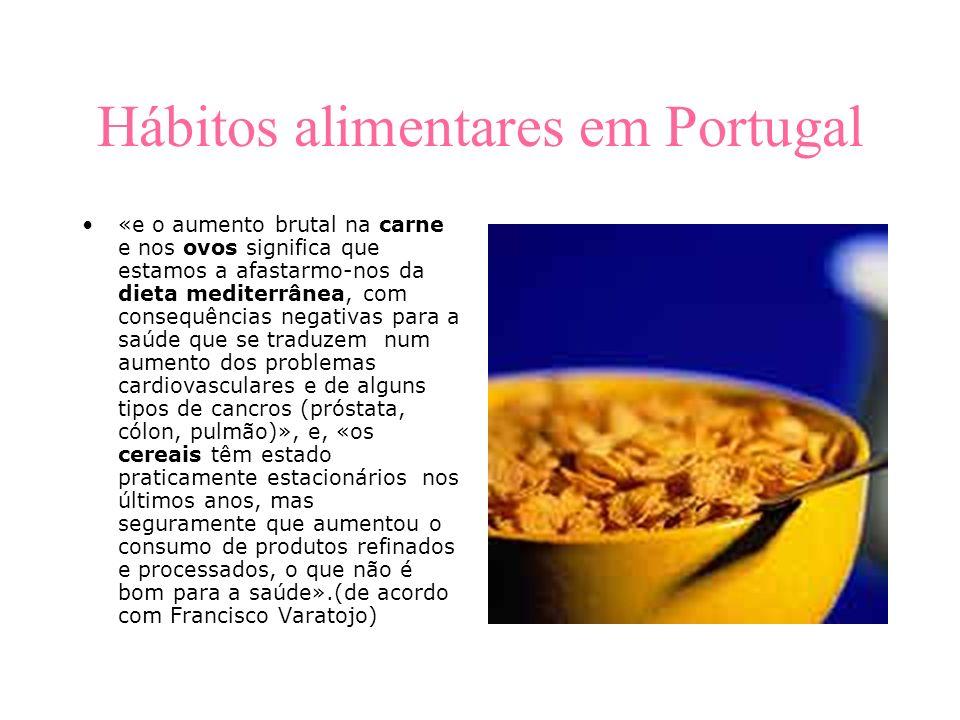 Hábitos alimentares em Portugal