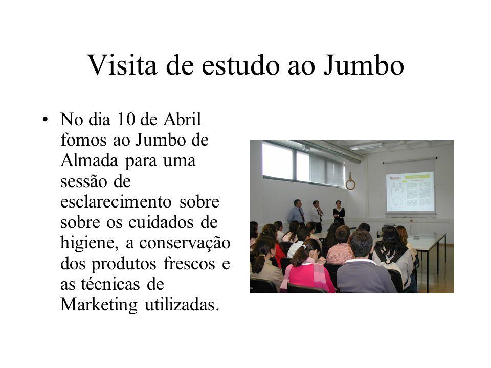 Visita de estudo ao Jumbo