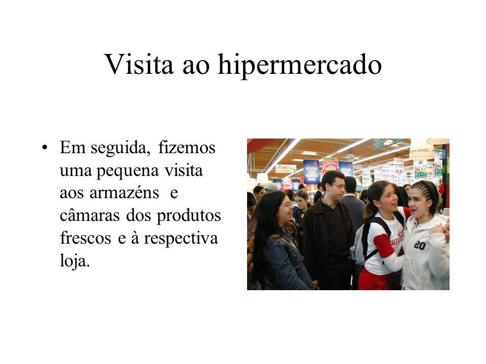 Visita ao hipermercado