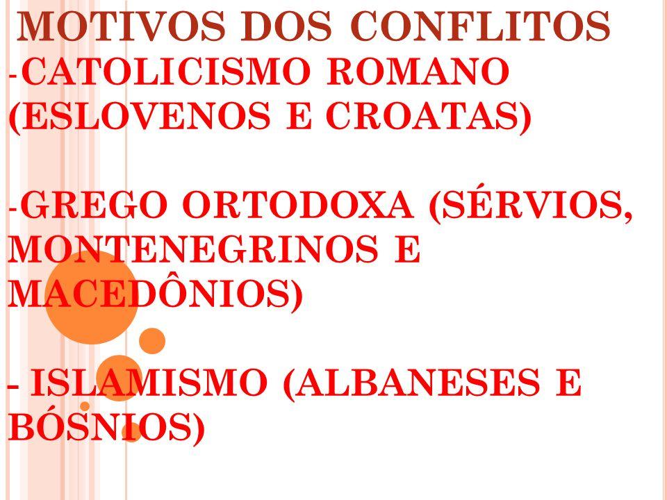 RELIGIOSOS/ETNICOS/CULTURAIS