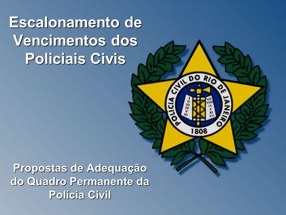 Escalonamento de Vencimentos dos Policiais Civis