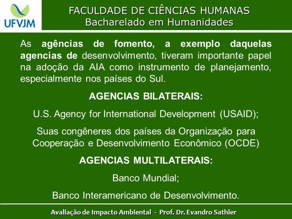 AGENCIAS MULTILATERAIS: