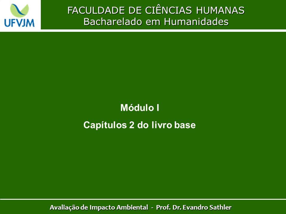 Módulo I Capítulos 2 do livro base