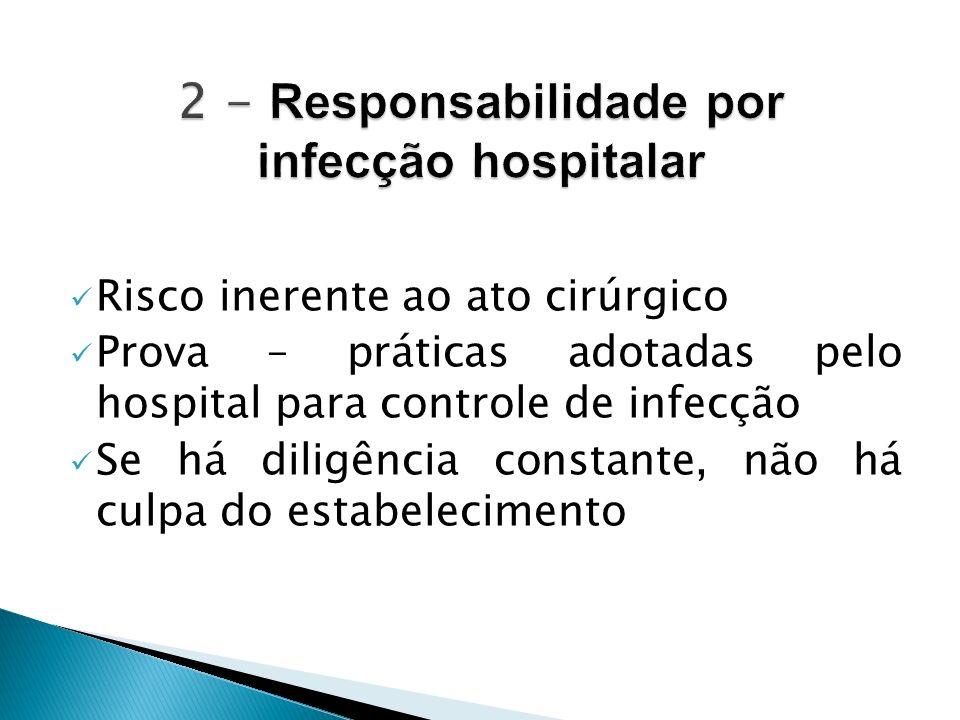 2 - Responsabilidade por infecção hospitalar