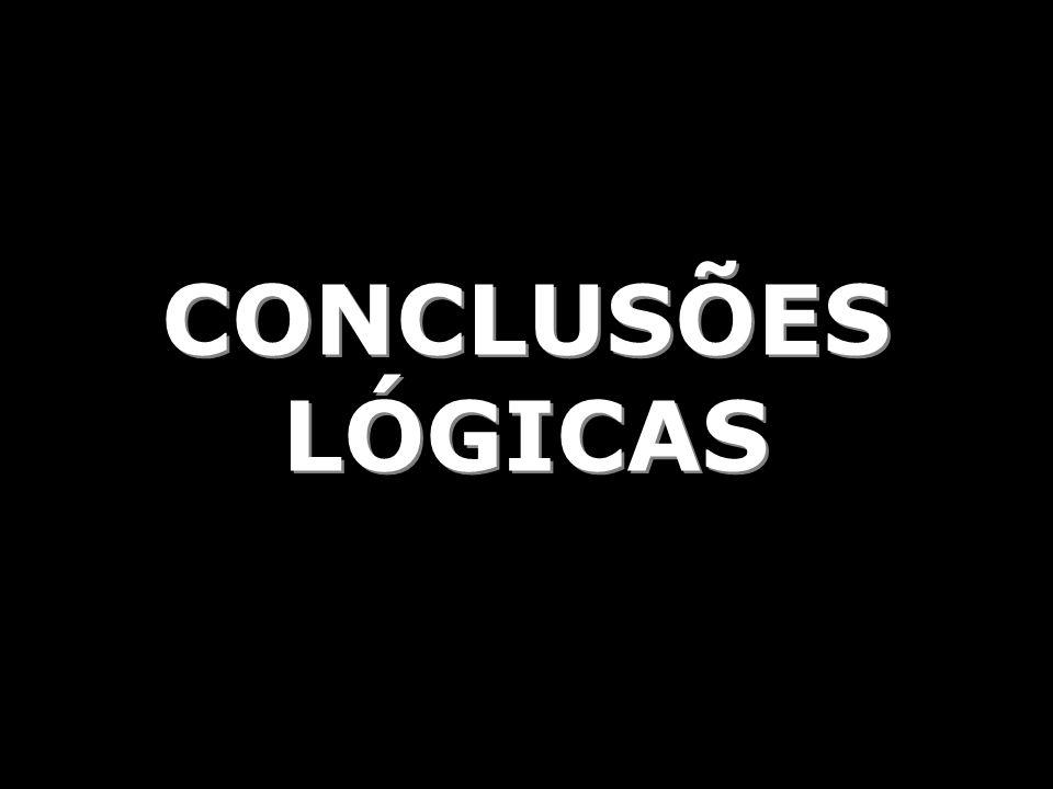 CONCLUSÕES LÓGICAS