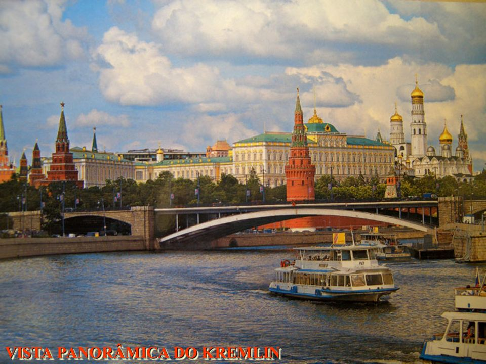 VISTA PANORÂMICA DO KREMLIN