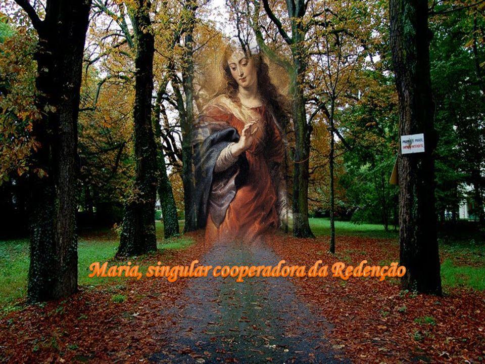 Maria, singular cooperadora da Redenção