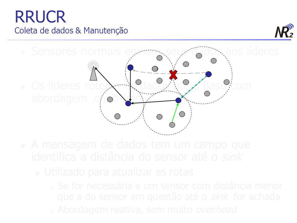 RRUCR Coleta de dados & Manutenção