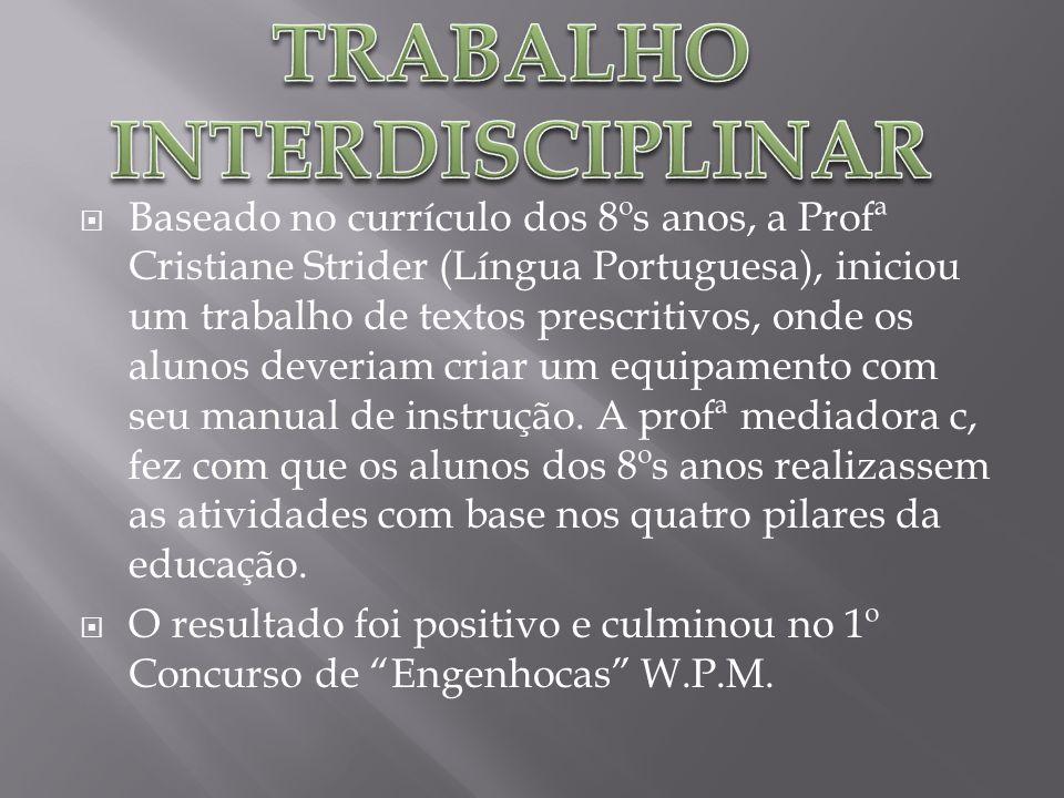 TRABALHO INTERDISCIPLINAR