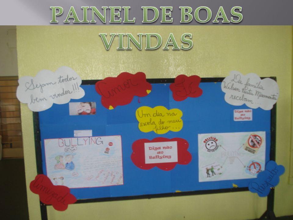 PAINEL DE BOAS VINDAS