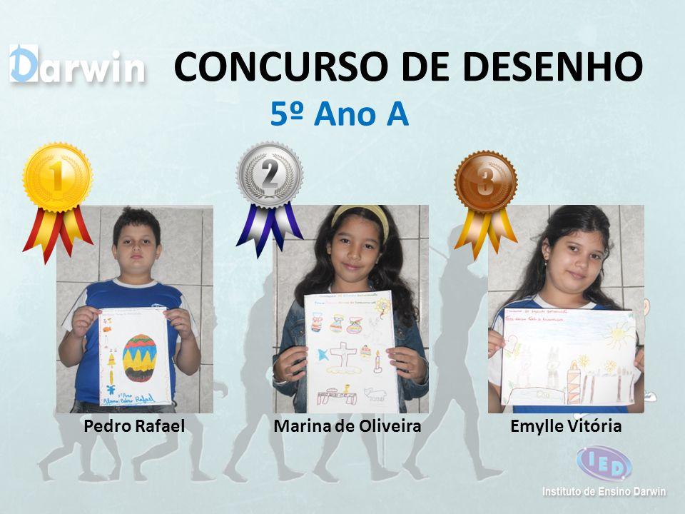 CONCURSO DE DESENHO 5º Ano A Pedro Rafael Marina de Oliveira