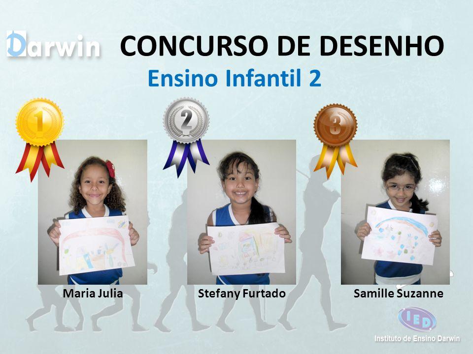CONCURSO DE DESENHO Ensino Infantil 2 Maria Julia Stefany Furtado