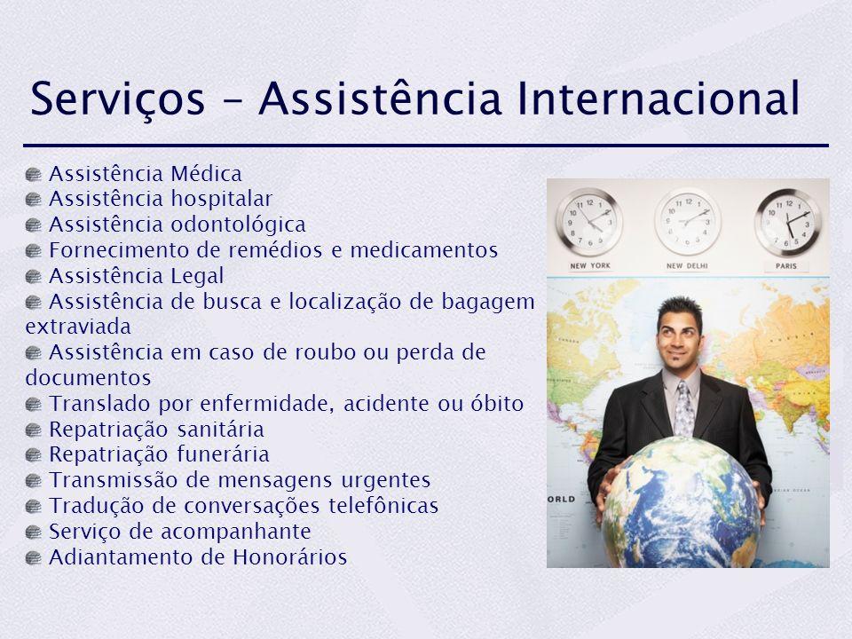 Serviços – Assistência Internacional