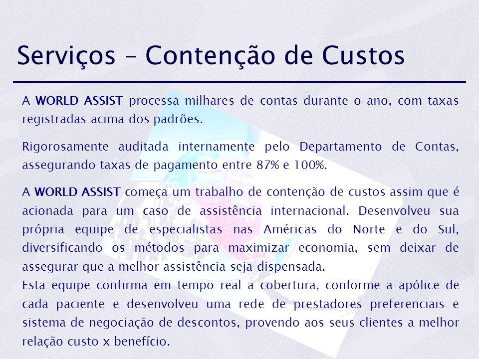 Serviços – Contenção de Custos
