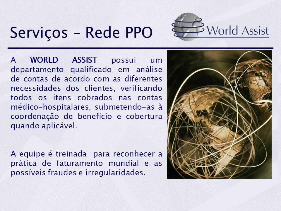 Serviços – Rede PPO