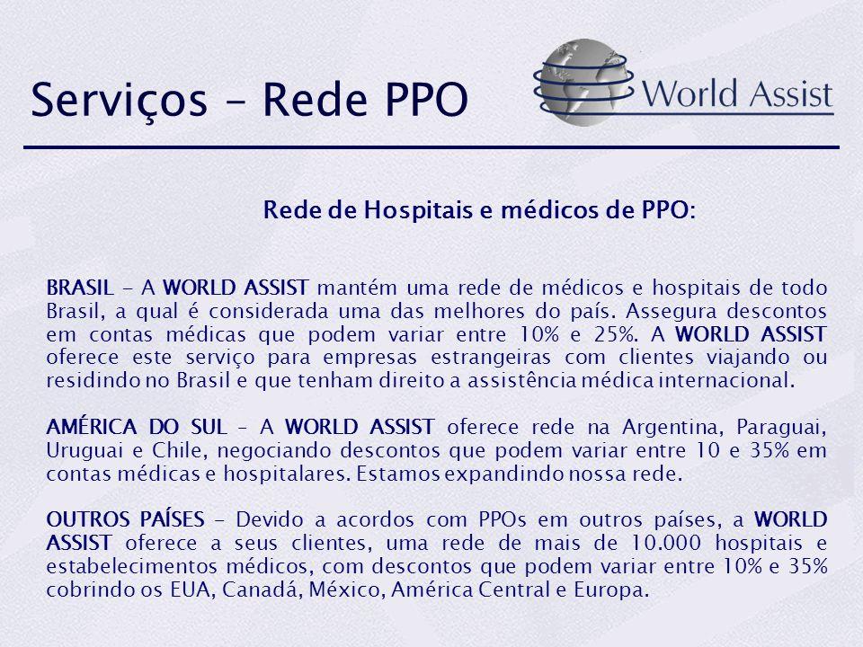 Rede de Hospitais e médicos de PPO: