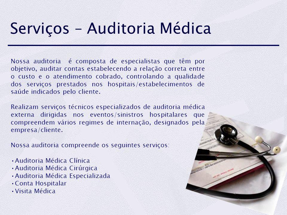 Serviços – Auditoria Médica
