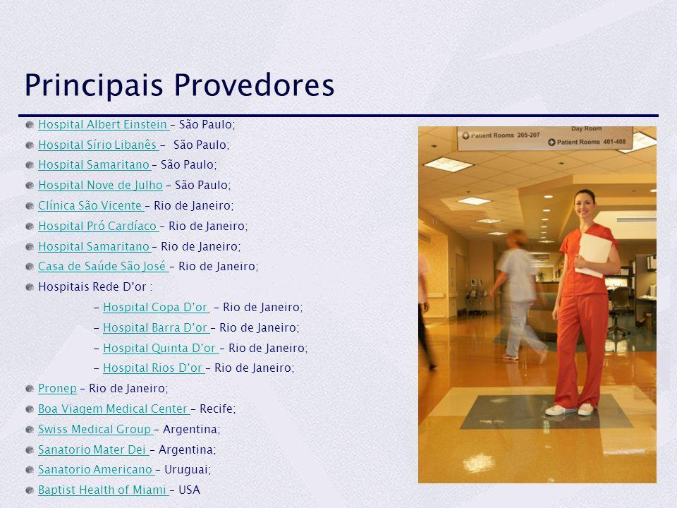 Principais Provedores