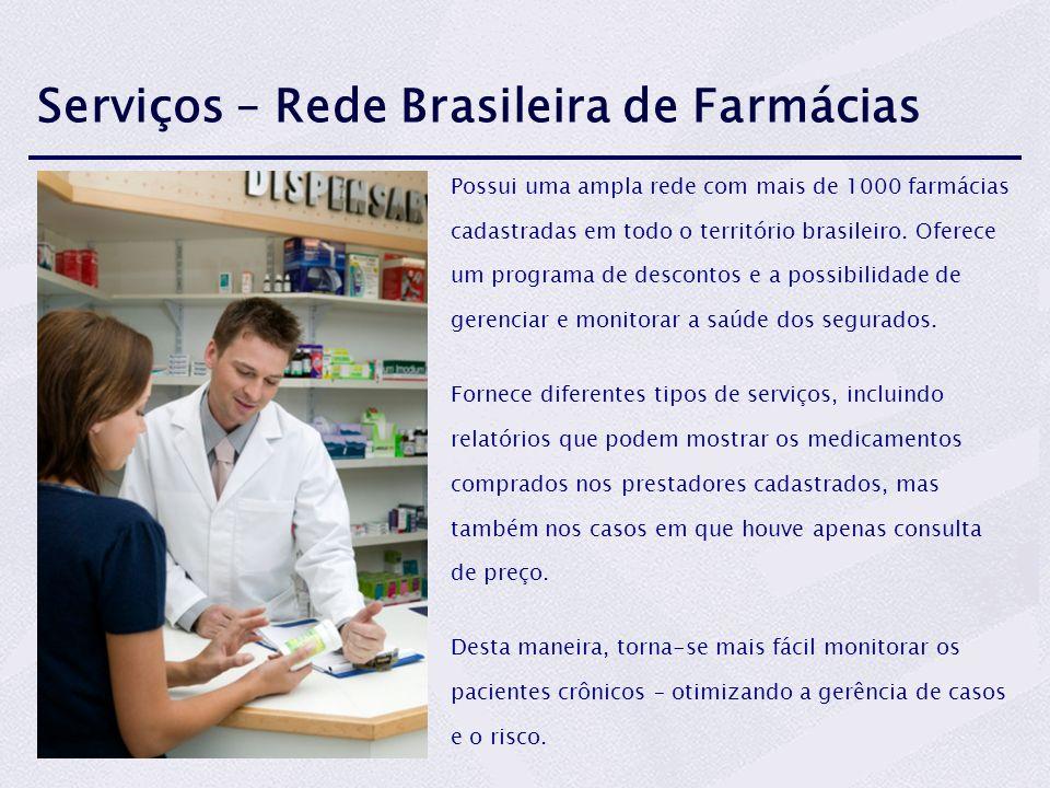 Serviços – Rede Brasileira de Farmácias