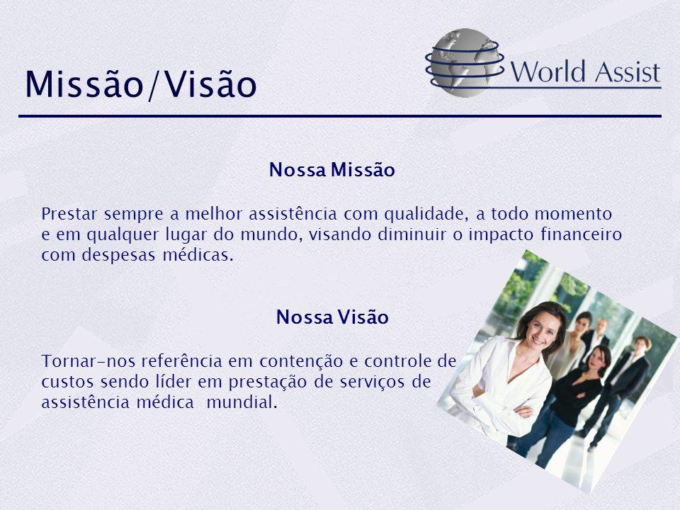 Missão/Visão Nossa Missão Nossa Visão