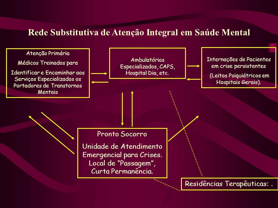 Rede Substitutiva de Atenção Integral em Saúde Mental