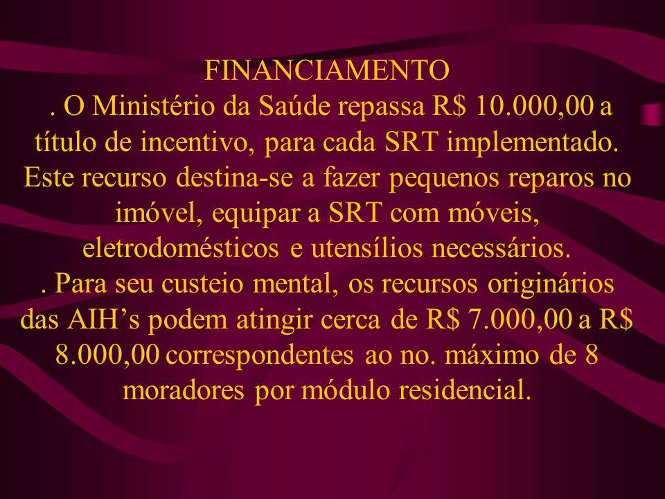 FINANCIAMENTO. O Ministério da Saúde repassa R$ 10