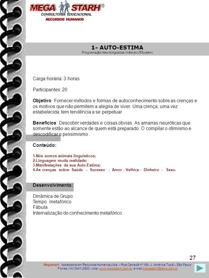 Programação Neurolinguistica (método LRSystem)