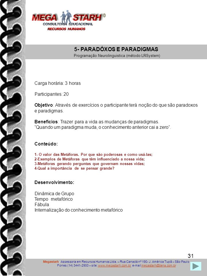 5- PARADÓXOS E PARADIGMAS