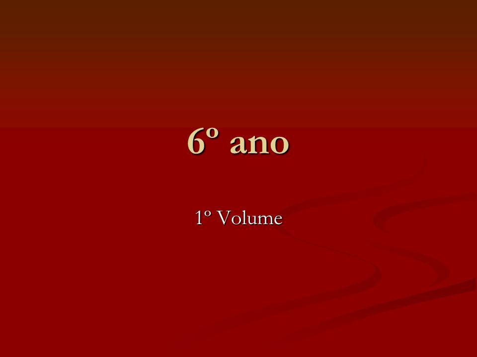 6º ano 1º Volume
