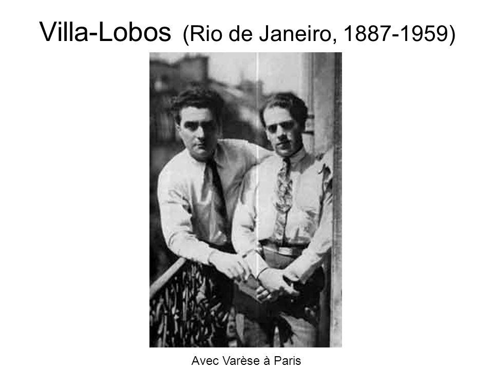 Villa-Lobos (Rio de Janeiro, 1887-1959)