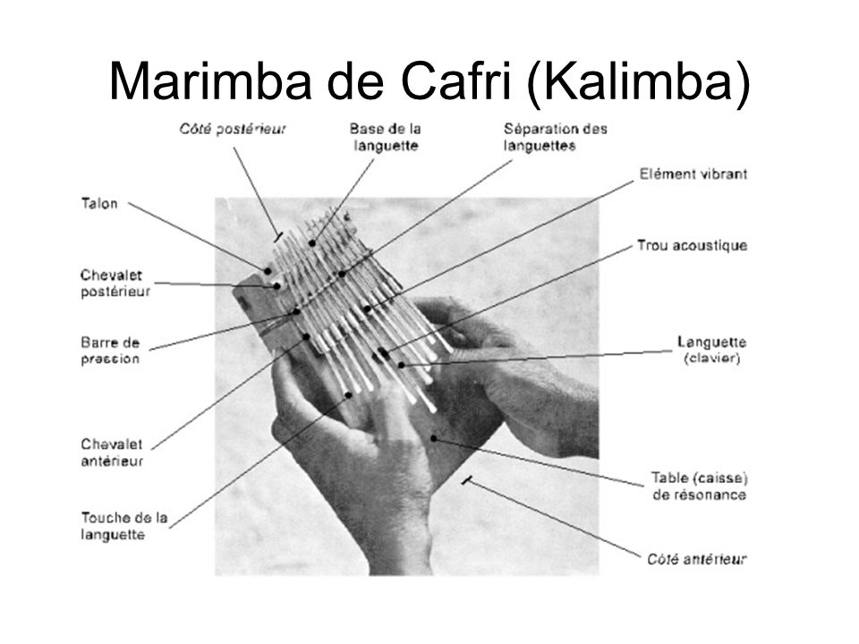 Marimba de Cafri (Kalimba)