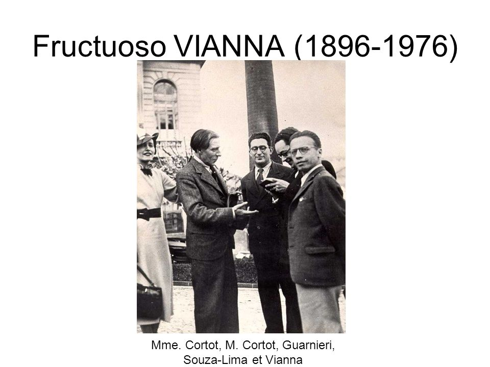 Mme. Cortot, M. Cortot, Guarnieri, Souza-Lima et Vianna