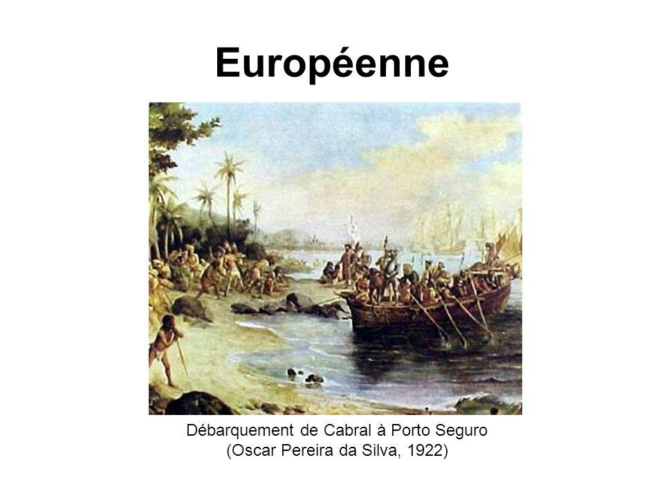 Européenne Débarquement de Cabral à Porto Seguro