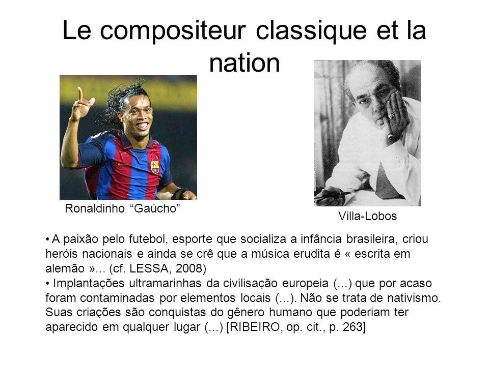 Le compositeur classique et la nation