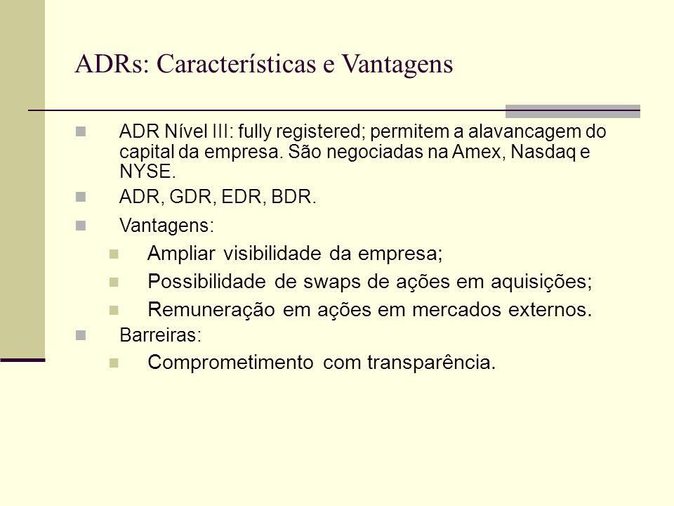 ADRs: Características e Vantagens