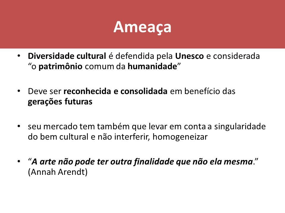 Ameaça Diversidade cultural é defendida pela Unesco e considerada o patrimônio comum da humanidade