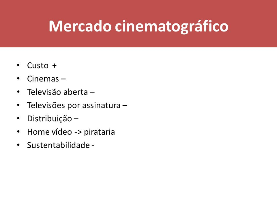 Mercado cinematográfico