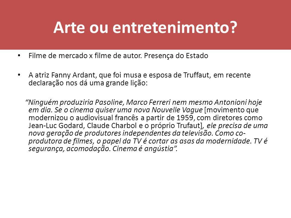 Arte ou entretenimento
