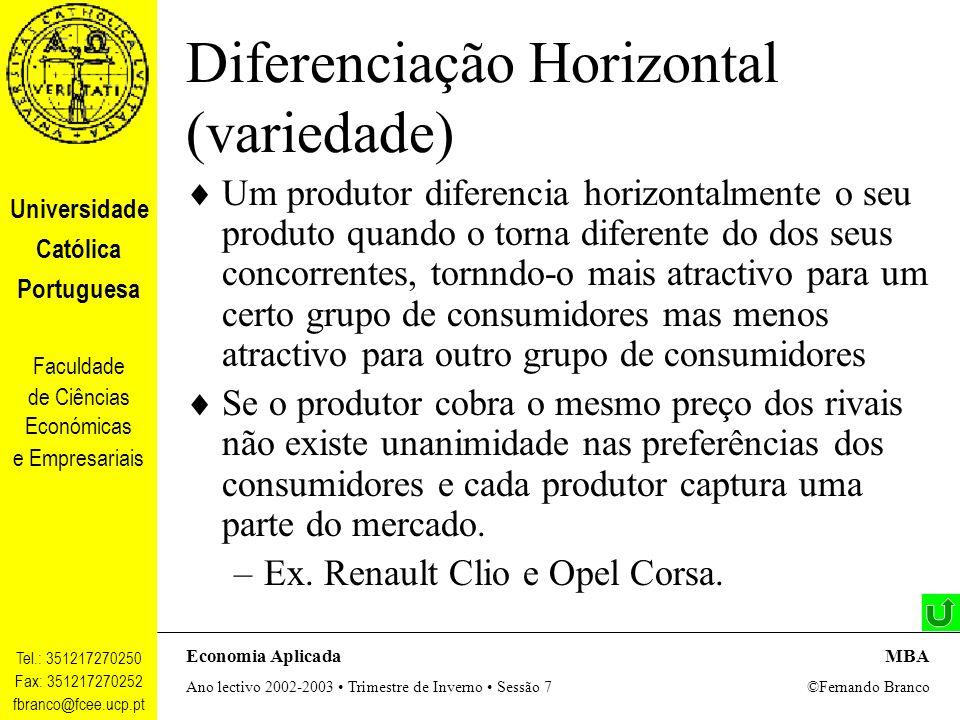 Diferenciação Horizontal (variedade)