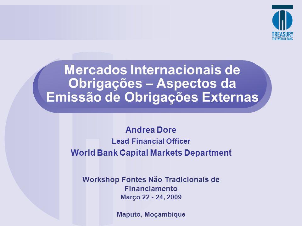 Mercados Internacionais de Obrigações – Aspectos da Emissão de Obrigações Externas